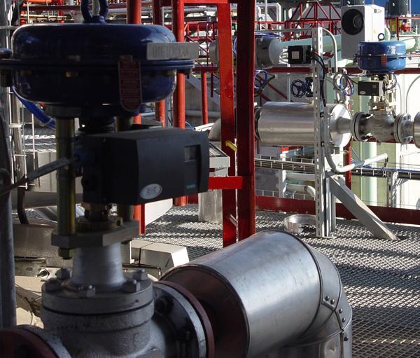 Regulační a uzavírací ventily
